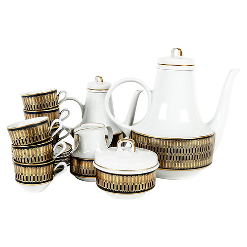 German Tea & Coffee Service, 19 Pcs