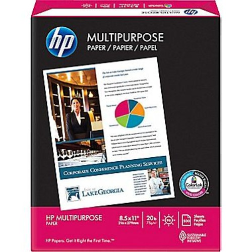 invent Multipurpose Paper, 8.5 x 11Inch, 20 lb, 96 Brightness, 500 sheets