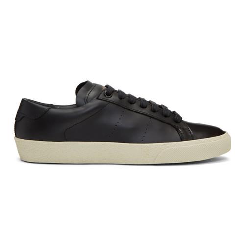SAINT LAURENT Black Court Classic Sl/06 Sneakers