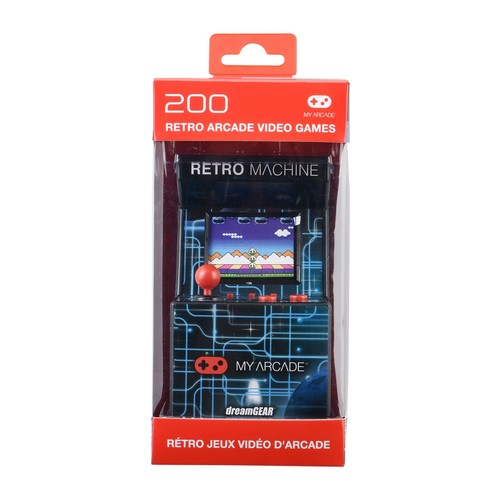 RETRO MACHINE WITH 200 BUILT-IN GAMES,PORTABLE GAMING SYSTEM THAT OFFERS A LARGE SELECTION OF TRADIT