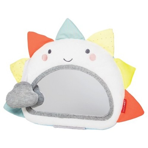 Skip Hop Silver Lining Cloud Activity Mirror Toy