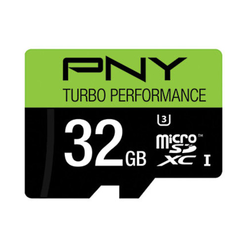 PNY MicroSD Card, Turbo Class 10, 32GB