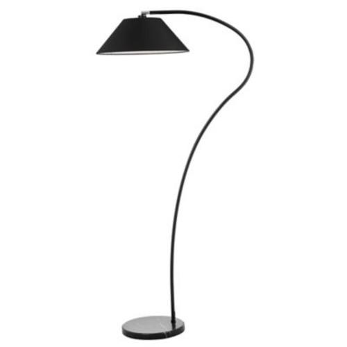 Safavieh Lumi Arc CFL Floor Lamp in Black