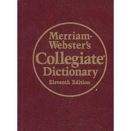 Merriam-Webster's Collegiate Dictionary (Thumbed) (Hardcover)