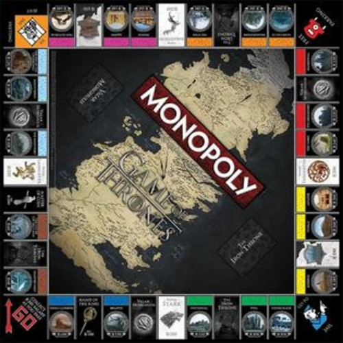 USAopoly Game of Thrones Monopoly Board Game