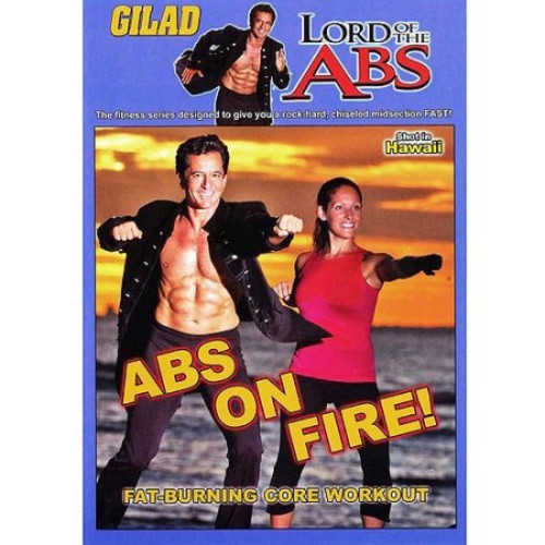Gilad: Lord Of The Abs - Abs On Fire (DVD)