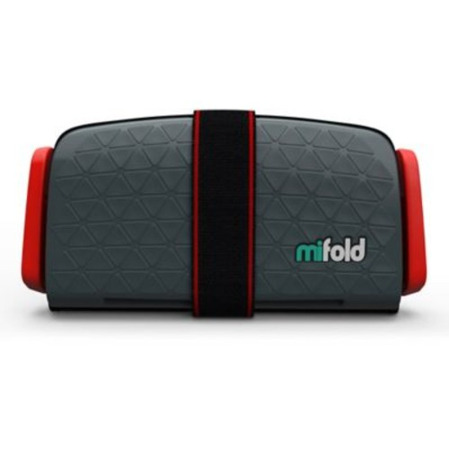 mifold Grab-n-Go Booster Car Seat in Slate Grey