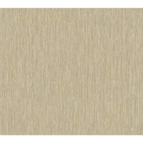 York Wallcoverings Texture Portfolio Raised Stria 27' x 27'' Solid Flocked Wallpaper