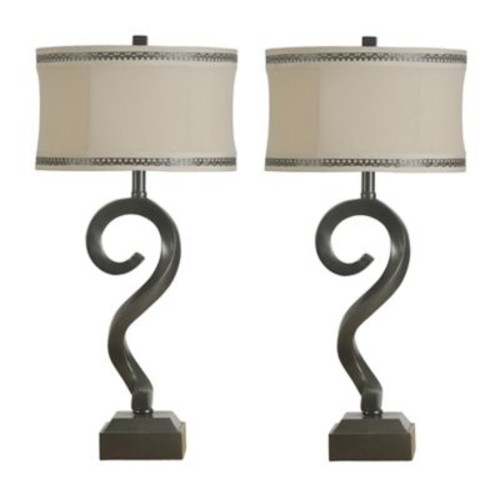 ImmacuLamps Downing Sculpture 31'' Table Lamps (Set of 2)