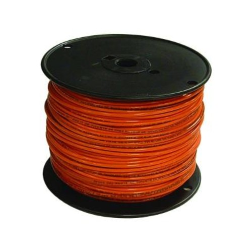 Southwire 500 ft. 16 Orange Stranded CU TFFN Fixture Wire