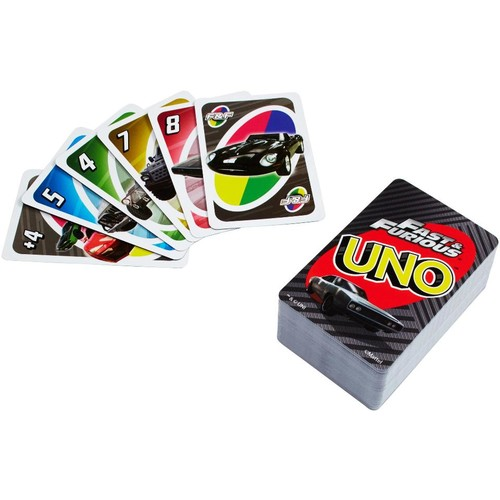 UNO Fast and Furious Card Game