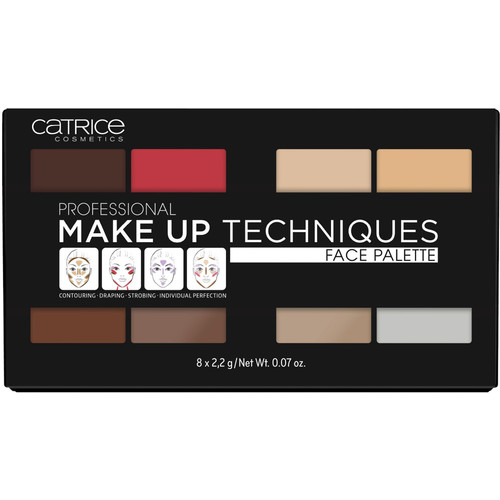 Professional Make Up Techniques Face Palette [Volume One 010]