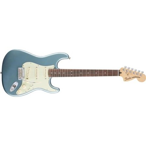 Fender Roadhouse Stratocaster Guitar, Rosewood Fingerboard, Mystic Ice Blue 0147300362