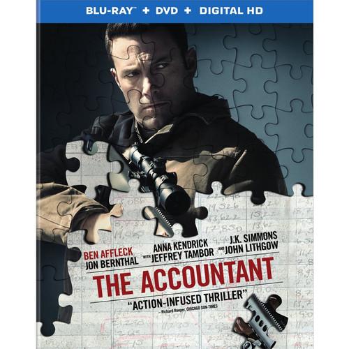 The Accountant (Blu-ray / DVD / Digital HD)