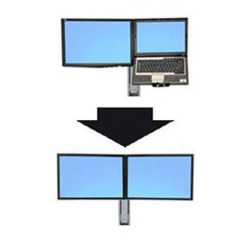 Ergotron WorkFit Convert-to-Dual Kit 97-616