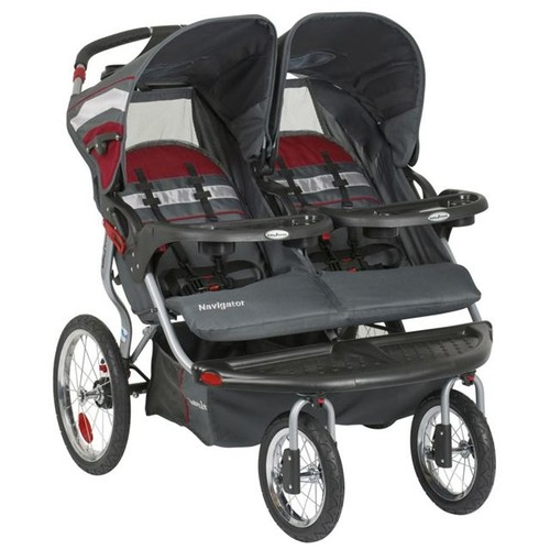 Baby Trend Navigator Double Jogger - Baltic Red