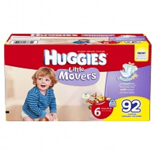 Huggies Little Movers Diapers 6, 35+ lbs