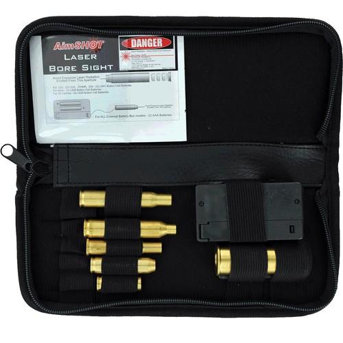 AimShot KT-Rifle-G Green Laser Rifle Bore Sight kit