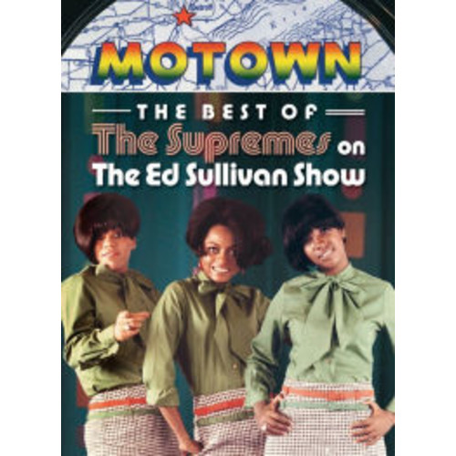 The Ed Sullivan Show: The Best of The Supremes on The Ed Sullivan Show B&W DD2
