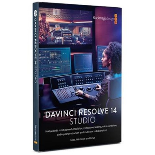 Blackmagic Design DaVinci Resolve 14 Studio Software, Dongle