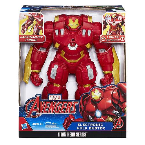 Marvel Avengers Titan Hero Series 12 inch Action Figure - Electronic Hulkbuster