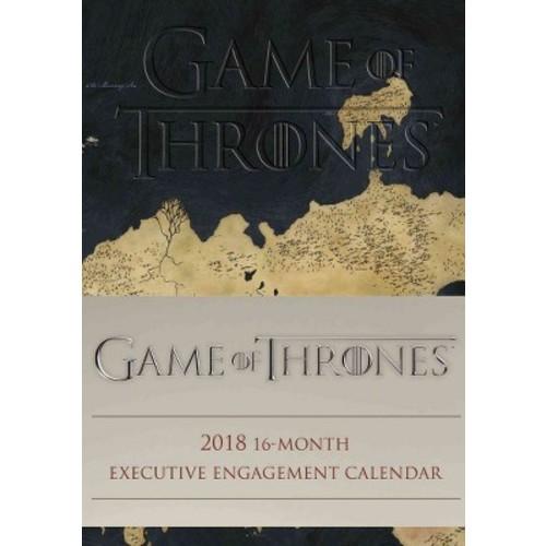 Game of Thrones 2018 Executive Calendar (Hardcover)