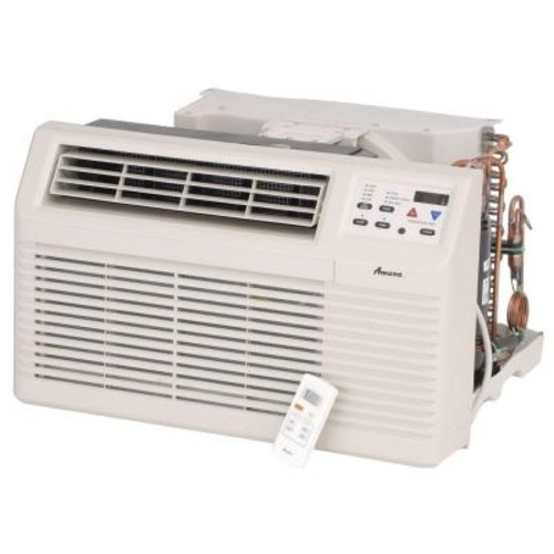 Amana 12,000 BTU 230/208-Volt Through-the-Wall Air Conditioner with 3.5 kW Electric Heat and Remote