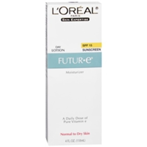 L'Oreal Paris Skin Expertise Futur*e Moisturizer + a Daily Dose of Pure Vitamin E, SPF 15, Normal to Dry Skin