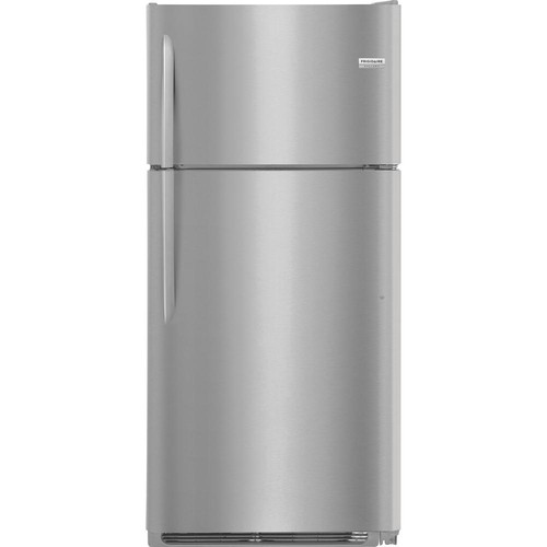 Frigidaire Gallery 18.1 cu. ft. Top Freezer Refrigerator in Smudge Proof Stainless Steel
