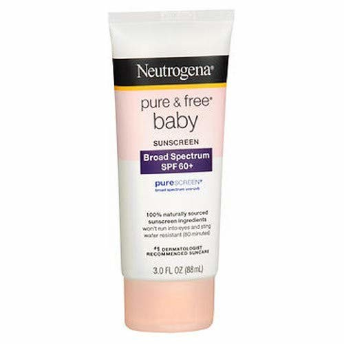 Neutrogena Pure & Free Baby Sunscreen Lotion - SPF 60 - 3 oz [pack of 1]