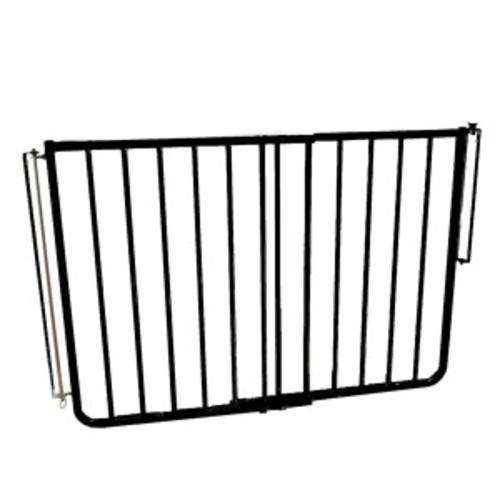 Cardinal Gates Stairway Special Outdoor Gate; Black
