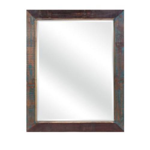 Loon Peak Reclaimed Wood Mirror