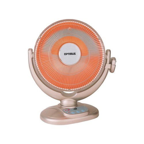 OPTIMUS H-4438 14 Oscillating Dish Heater with Remote - OPSH4438
