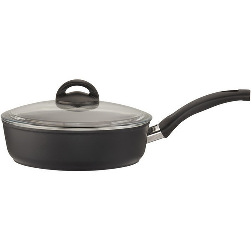 Ballarini Como Forged Aluminum 10-pc Nonstick Cookware Set - Black