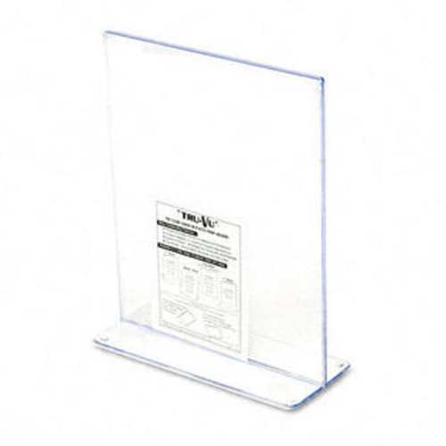 Deflecto Stand-Up Double-Sided Sign Holder