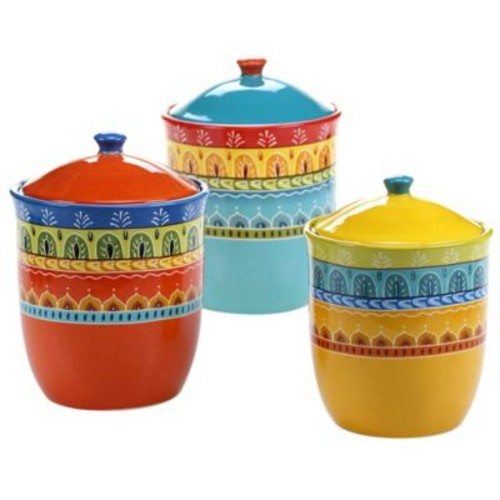 Certified International Valencia 3-Piece Canister Set