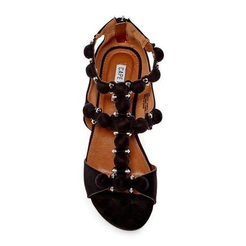 Dome Studded Ankle Strap Sandal