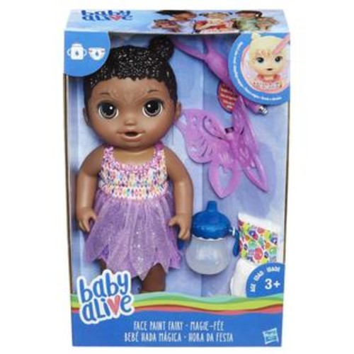Hasbro Baby Alive Face Paint Fairy Doll