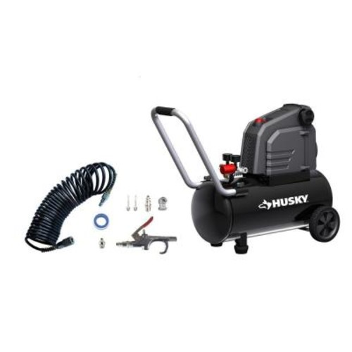 Husky 8 Gal. Portable Oil Free Electric Air Compressor