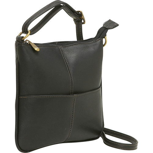 Le Donne Leather Front Pocket Cross Body