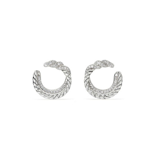 Continuance Diamond Hoop Earrings