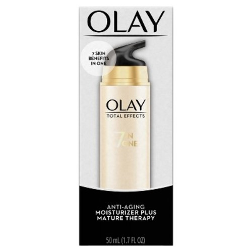 OLAY Total Effects 7-In-1 Moisturizer Plus, Mature Therapy 1.70 oz [Pack of 1]