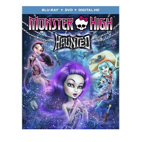 Monster High: Haunted Blu-Ray (Blu-Ray/DVD/Digital HD)
