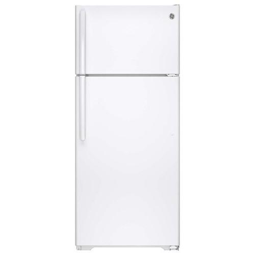 GIE18GTHWW 17.5 cu. ft. Top-Freezer Refrigerator - White