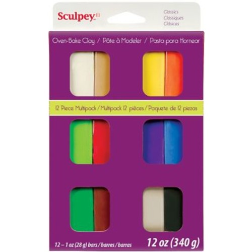 Polyform Classics Sculpey III Multi Packs Oven Bake Polymer Clay