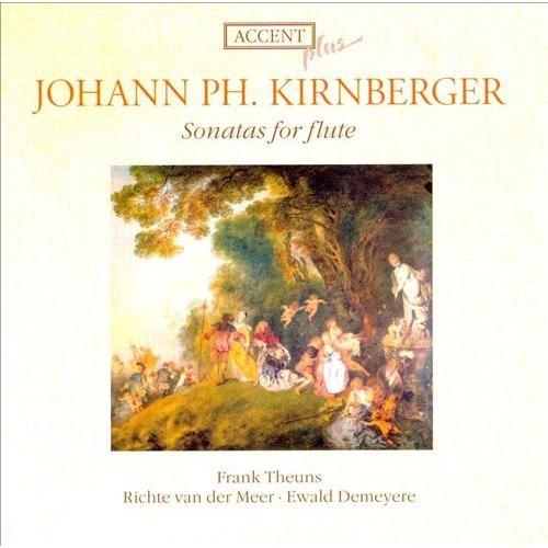 Kirnberger: Sonatas for flute [CD]