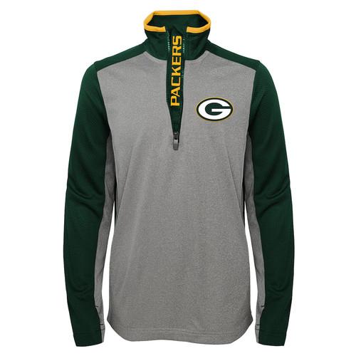 Boys 8-20 Green Bay Packers Matrix Pullover