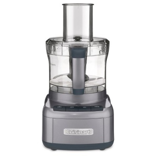 Cuisinart FP-8GM Elemental 8-Cup Food Processor, Gunmetal