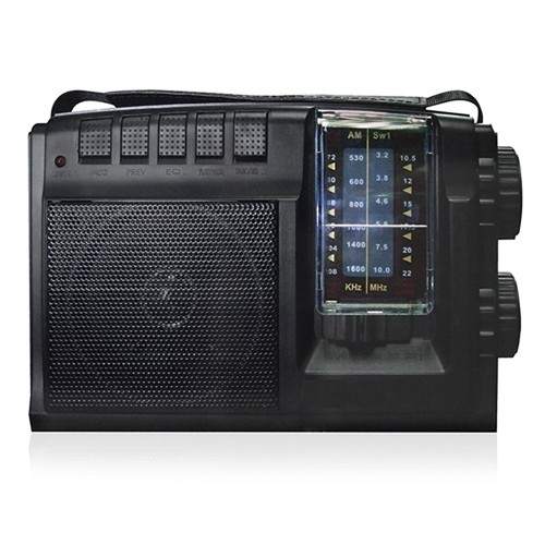 Quantum FX AM FM SW 1-SW 2 Radio With USB SD - Quantum FX R-26U