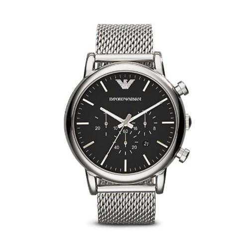 3-Hand Chronograph Mesh Watch, 46mm